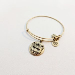 Alex and Ani Gold Wild at Heart Panther Bracelet